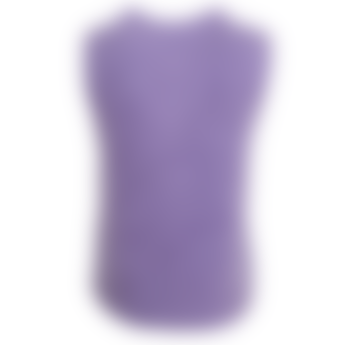 Orla Antwerp Heavy Knitted Tank Top Lilac