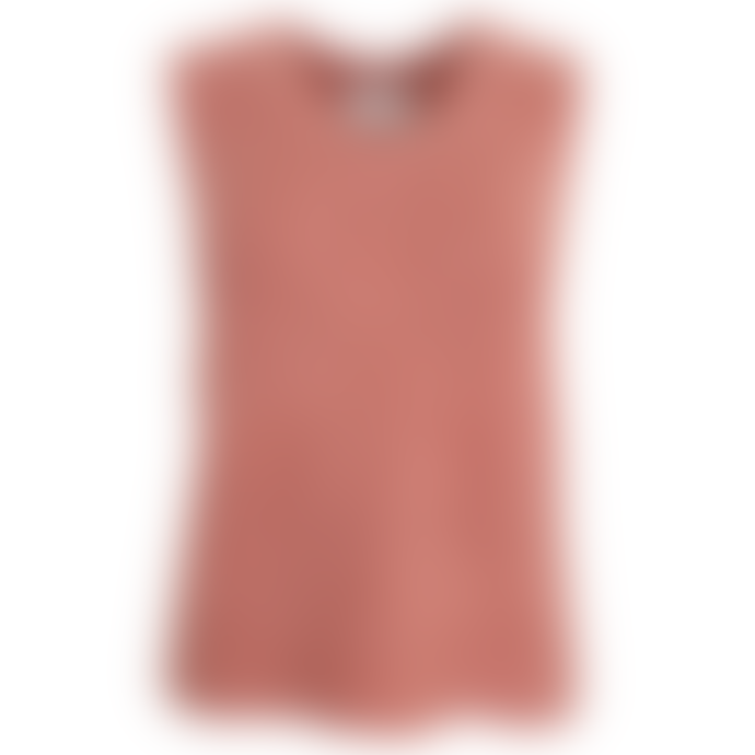 Orla Antwerp Heavy Knitted Tank Top Rose