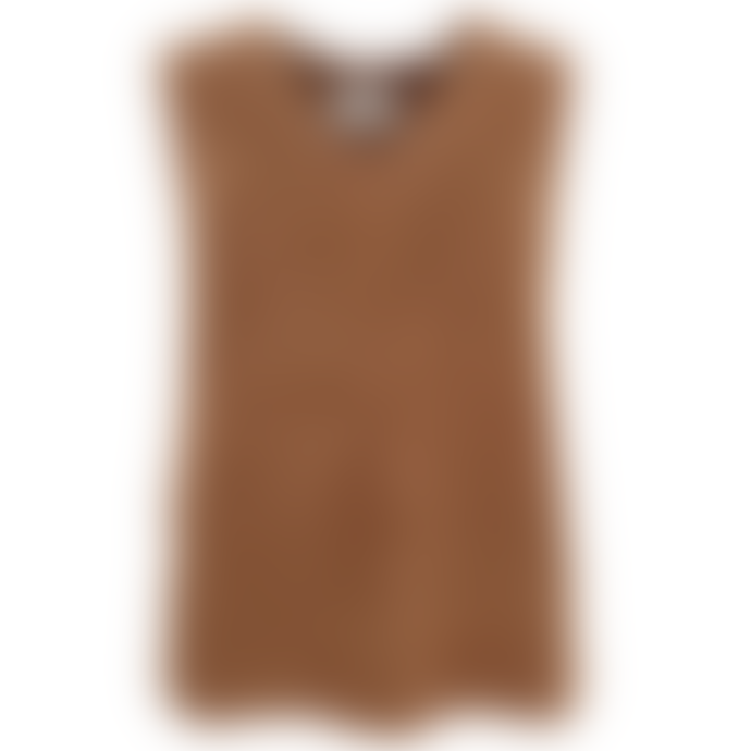 Orla Antwerp Heavy Knitted Tank Top Camel