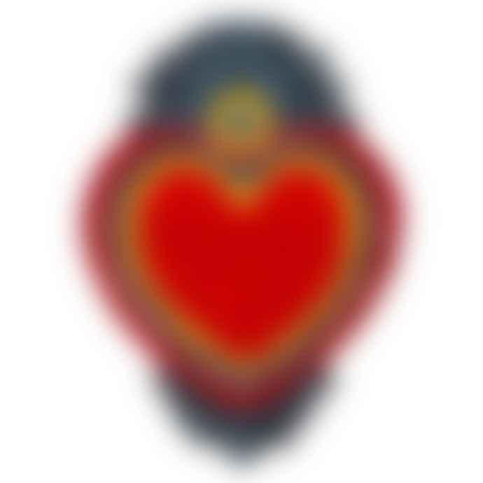 Kitsch Kitchen Milagro Heart Rug