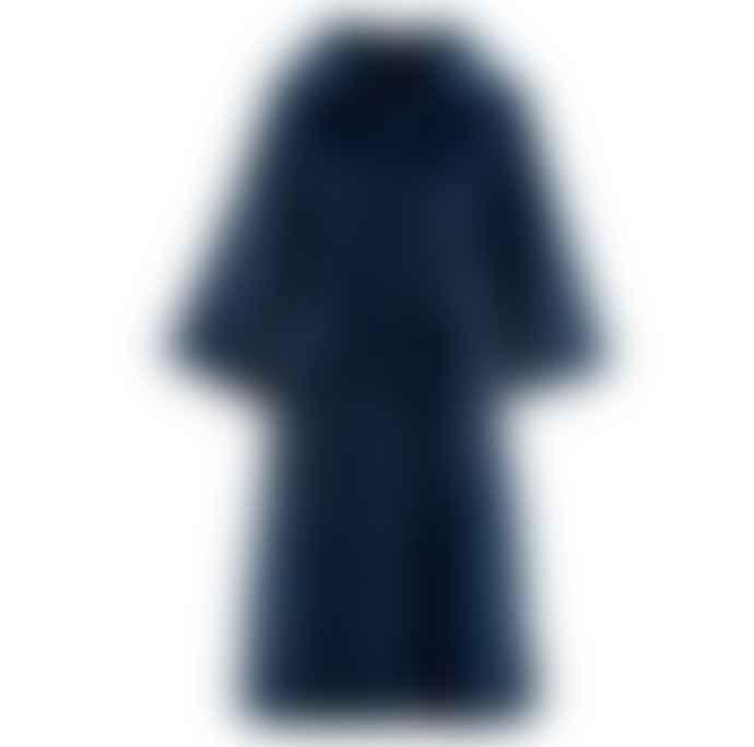 Alex Max Faux Fur Coat Navy