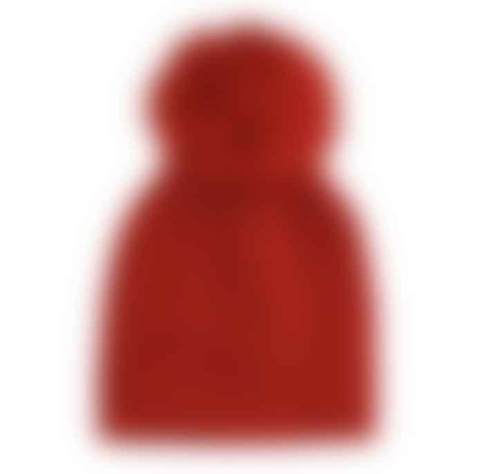Alex Max Faux Fur Pom Pom Hat