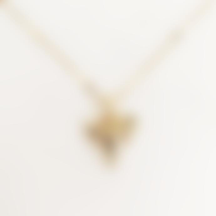 ByNouck Shark Tooth Necklace Gold