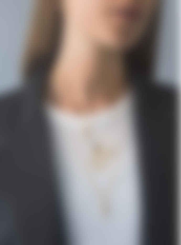 Design Letters 60cm Gold Necklace for charm