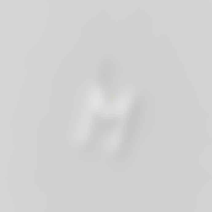 Design Letters 16mm Matt Silver Archetype Initial Charm