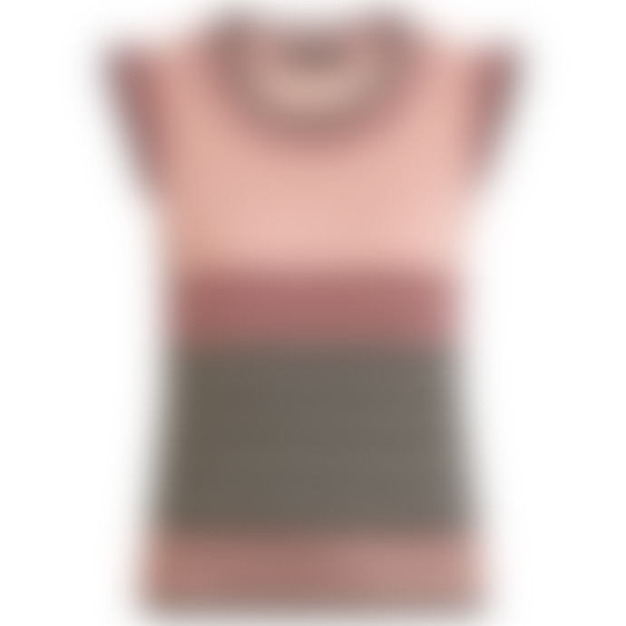 King Louie Ruffle Preppy Spencer Pink