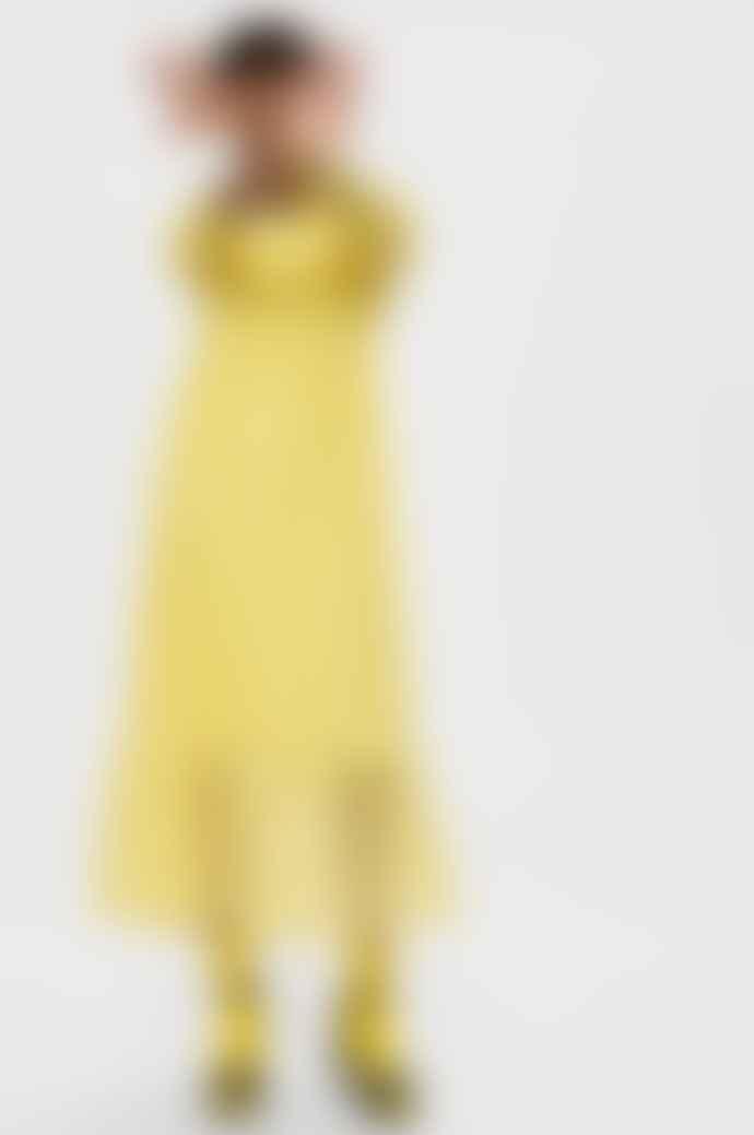 Selected Femme Slfmya Dress Yellow