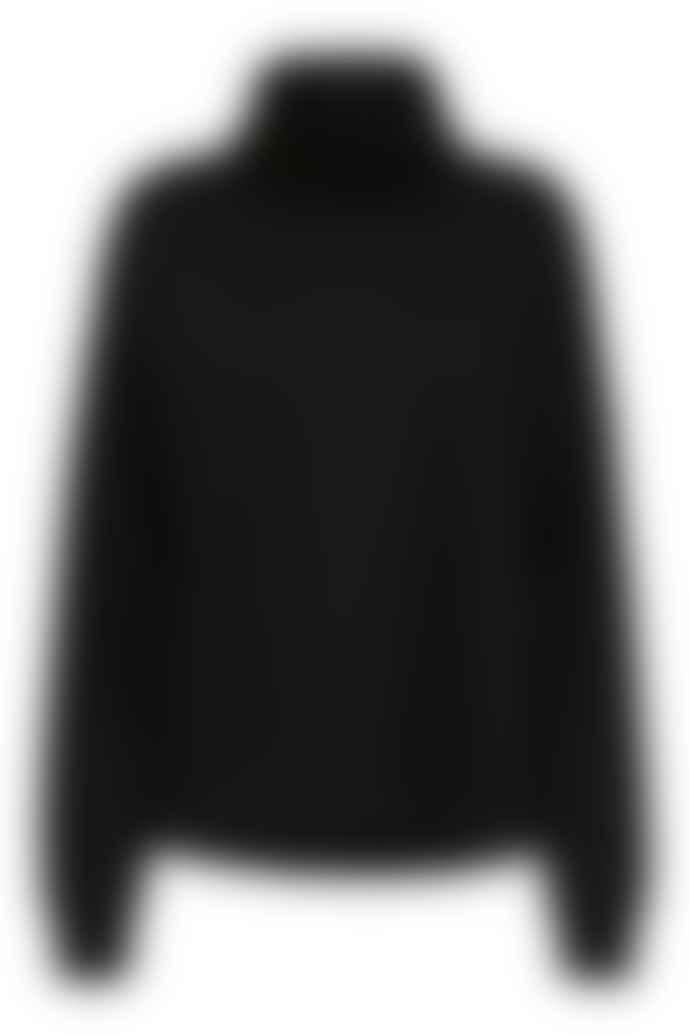 Selected Femme Black Ninna High Neck Sweater