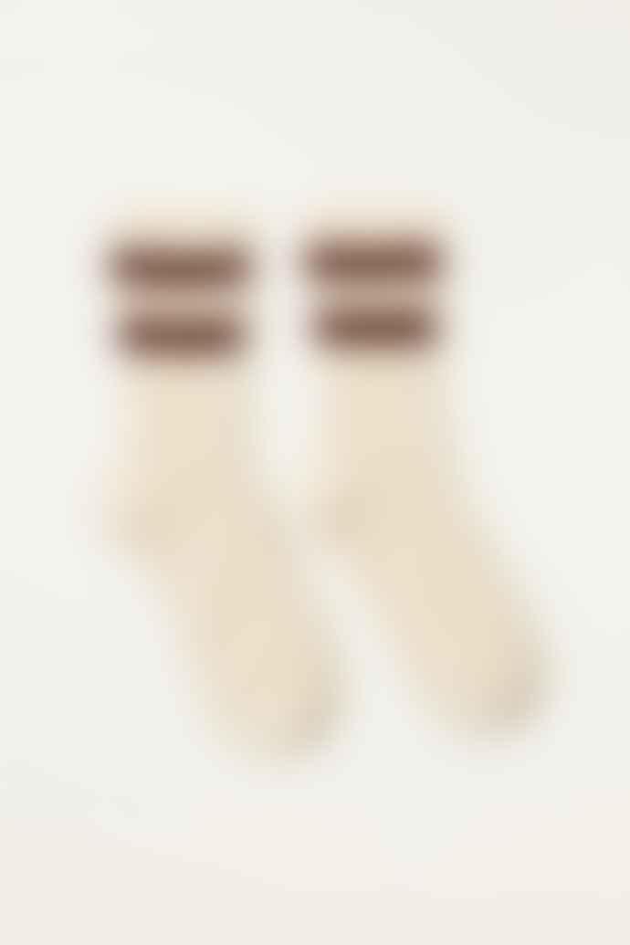 Bellerose Macadamia Ecru Folar Socks