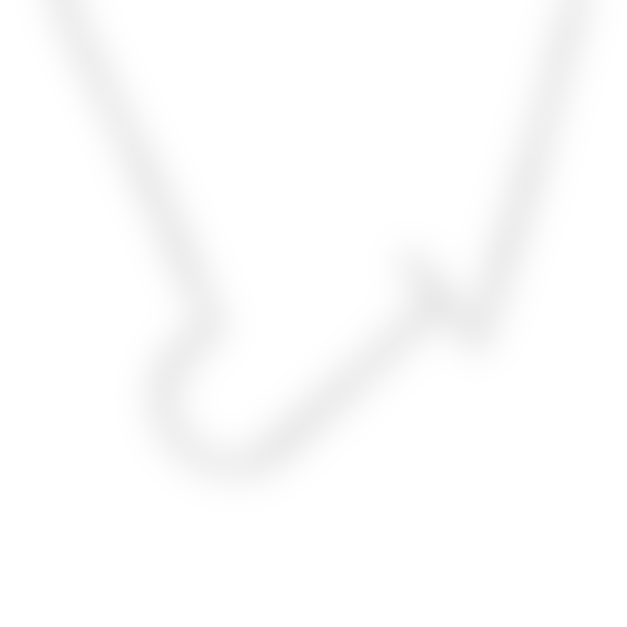 Nordic Muse Waterproof Personalised Letter J Initial Pendant Necklace Silver Plated Tarnish-Free