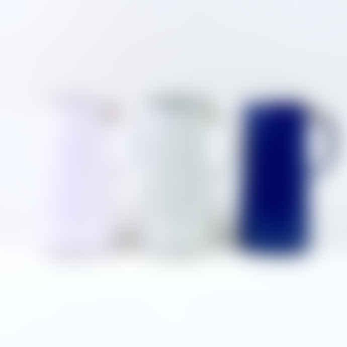 Falcon Enamelware 3 Pint Enamel Jug - Pale Lilac