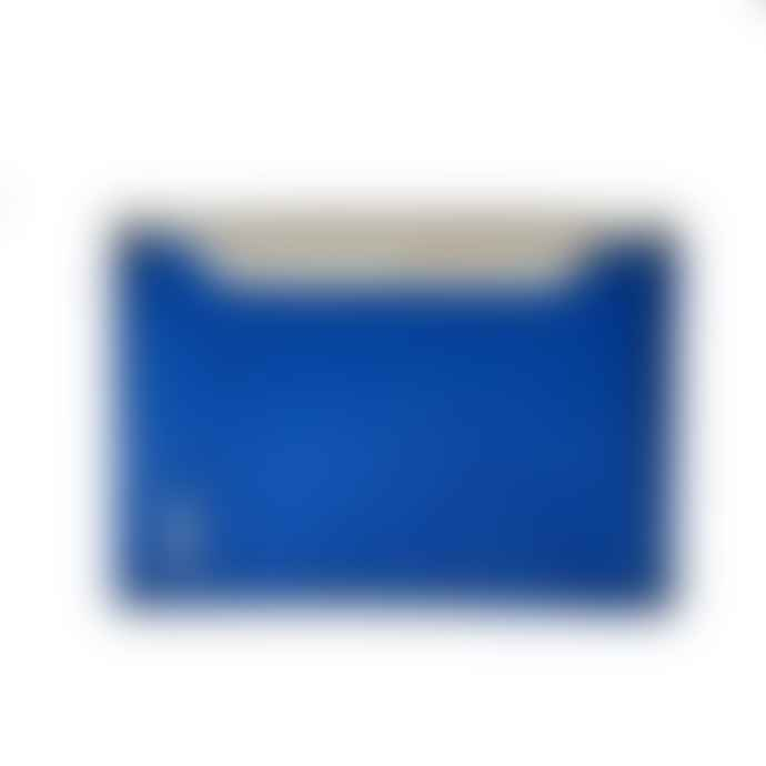 Freitag Recycled Credit Card Wallet Brandon White and Blue