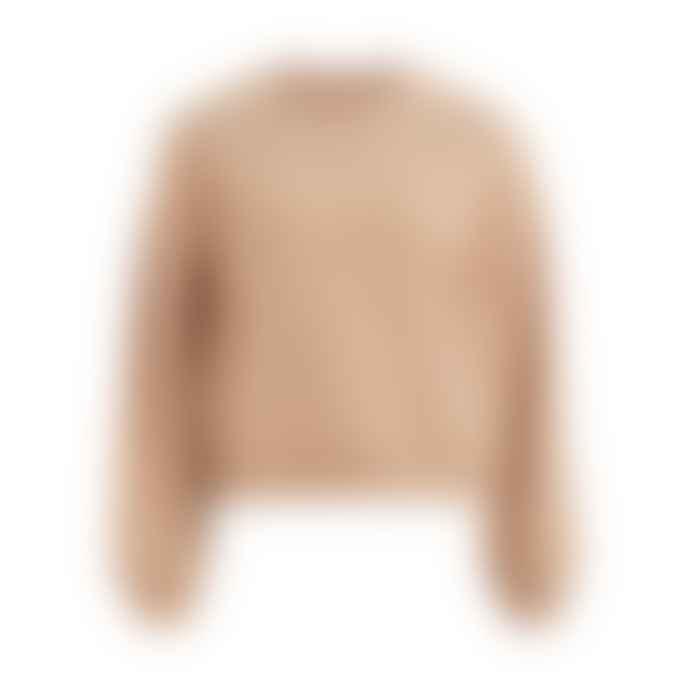 Vila Pearl Detail Sweatshirt