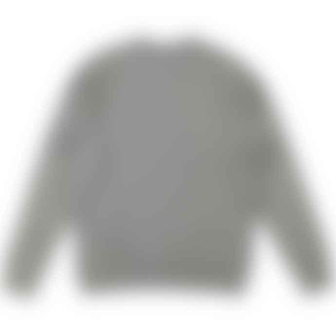 Asquith & Fox Mens Coastal Vintage Wash Loop Back Sweatshirt