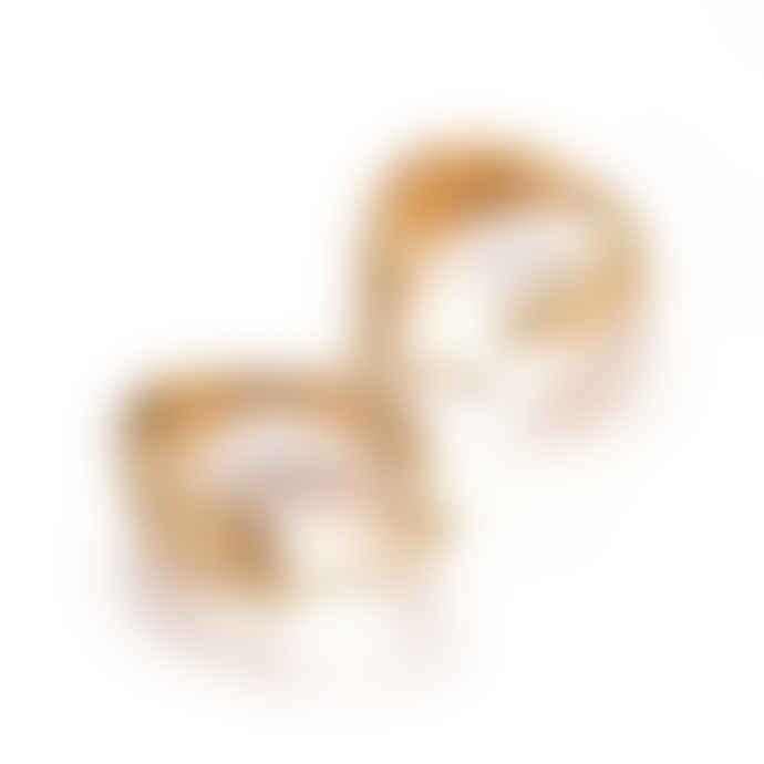 Perlenreich House of Heckel Creolen, Hoop Earrings