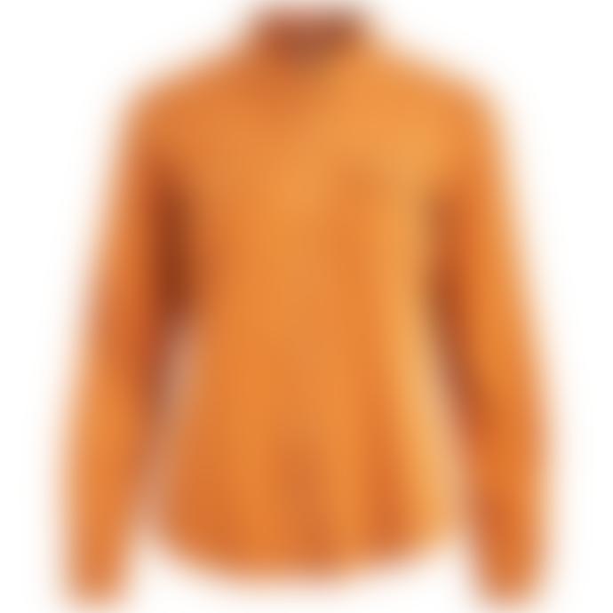 Vila Vibista Denim Shirt Orange