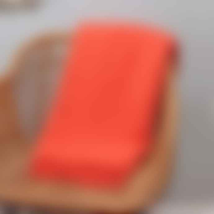 Chickidee Coral Soft Tassel Throw