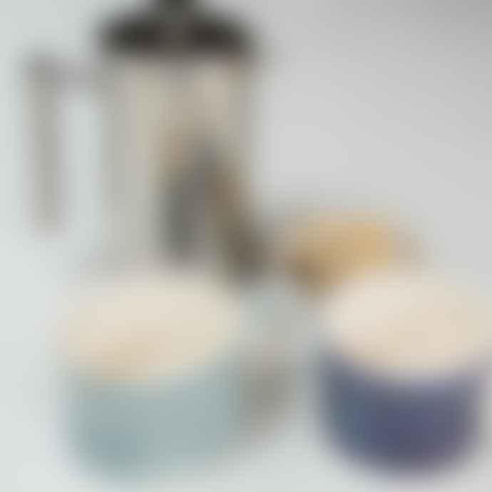 Musango Sgraffito Ceramic Mug Mint