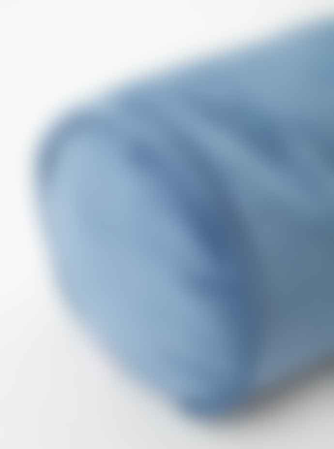 wigiwama Velvet Roll Cushion Deep Blue