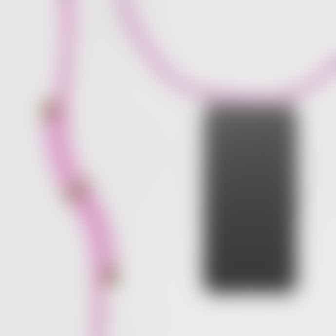KNOK CASE Reflect Pink Cross body Phone Case Strap