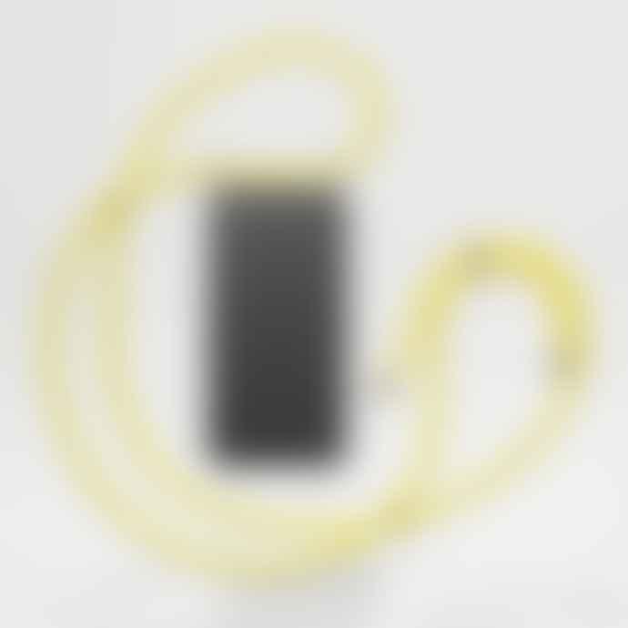 KNOK CASE Reflect Yellow Cross body Phone Case Strap
