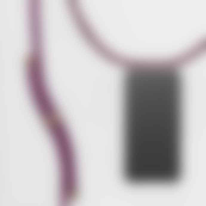 KNOK CASE Wine Cross body Phone Case Strap