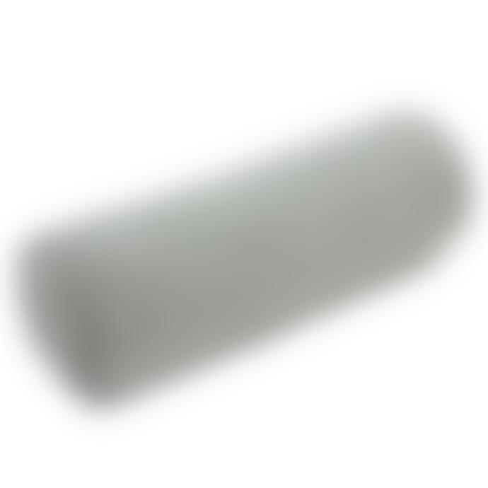 wigiwama Grey Velvet Roll Cushion