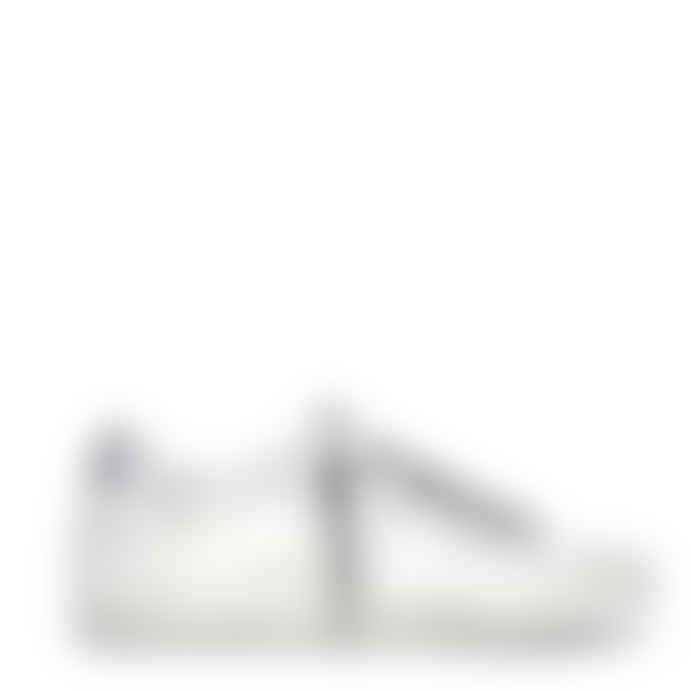 Golden Goose Deluxe Brand Super Star Dotted Star Laminated Heel Ice/White/Silver Sneaker