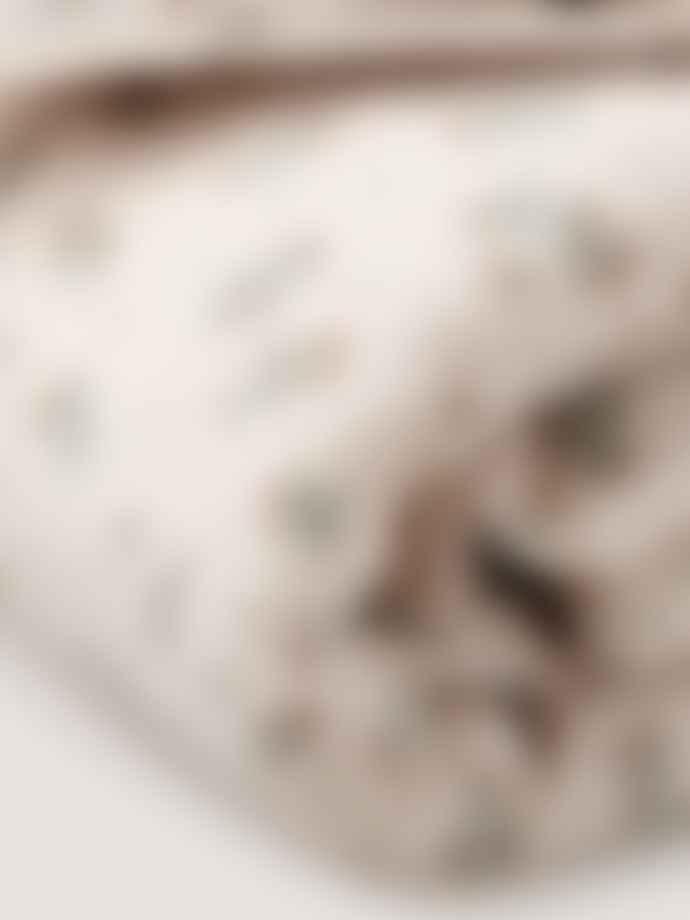 Garbo & Friends Clover Muslin Cotbed Duvet Cover Set