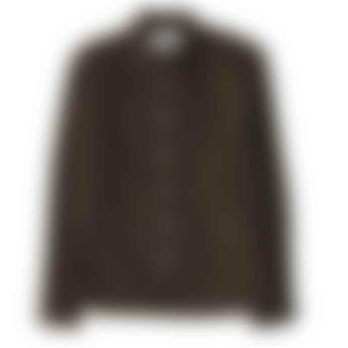 Corridor Pincord Shirt Olive