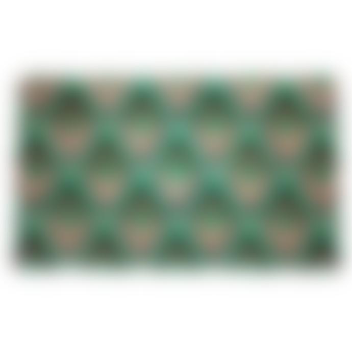 Artsy Geo Diamond Doormat