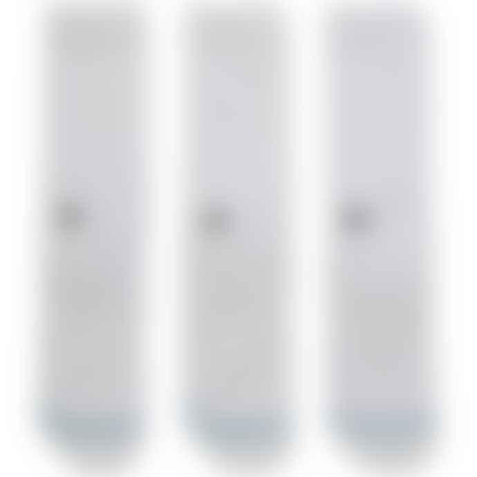 Stance Icon 3 Pack Socks - White