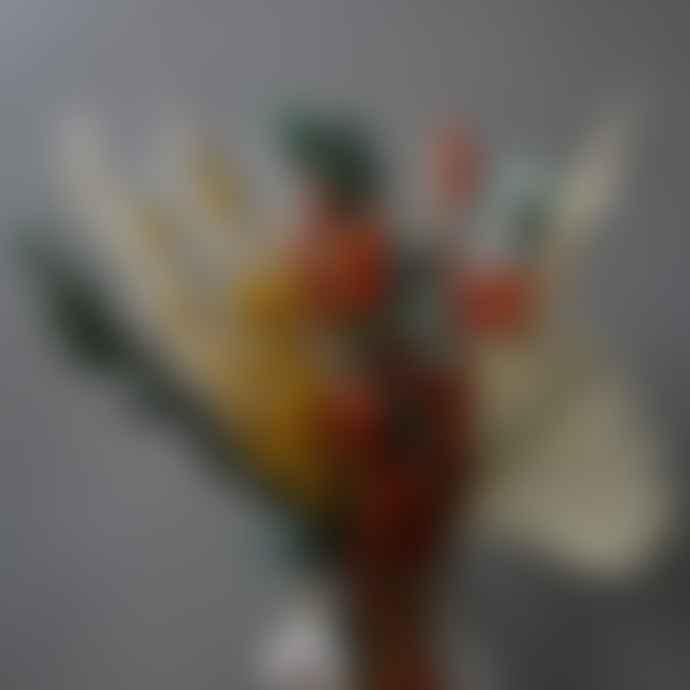 livs Dried Flower Bouquet - Olga Eucalyptus Amber