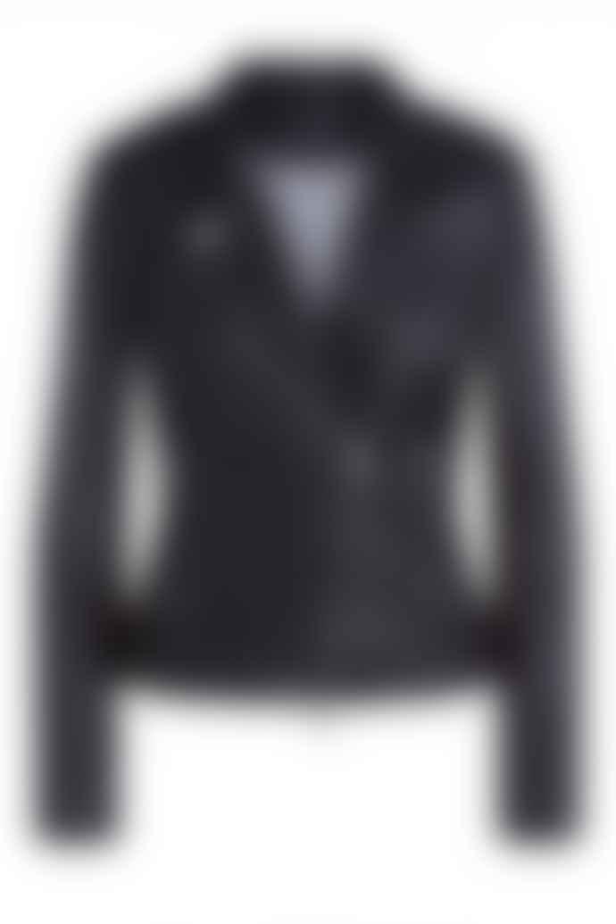 Set Fashion 67950 Leather Jacket In Black