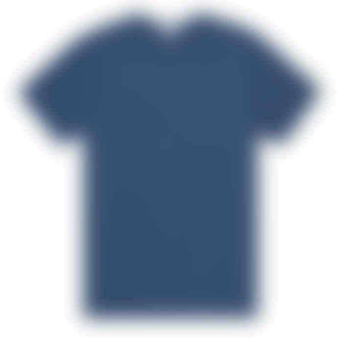Sunspel Classic Crew T Shirt Smoke Blue
