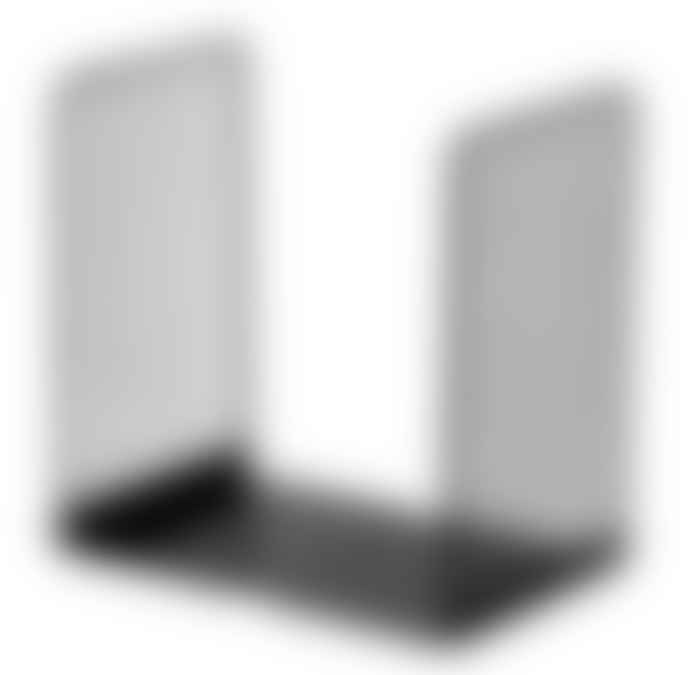 Black White Wire Design Bookends