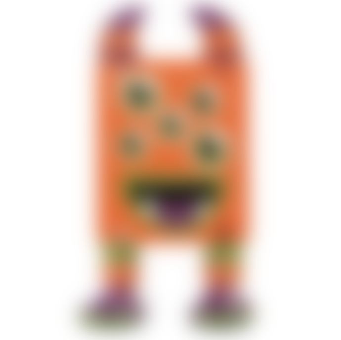 Tobar Wooden Flexi Monsters Orange