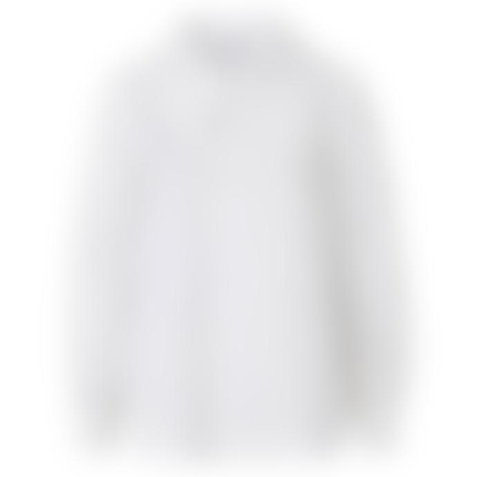 mbyM Torill Collar Top White