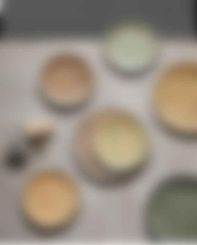 HKliving Set of 2 Peach Side Plate