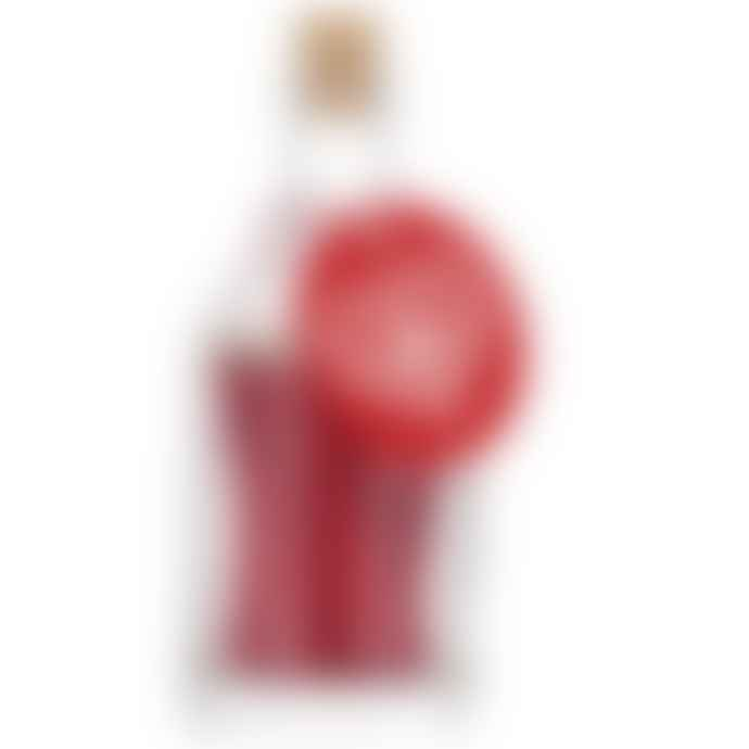 The Archivist  Matches Glass Bottle Red Heart
