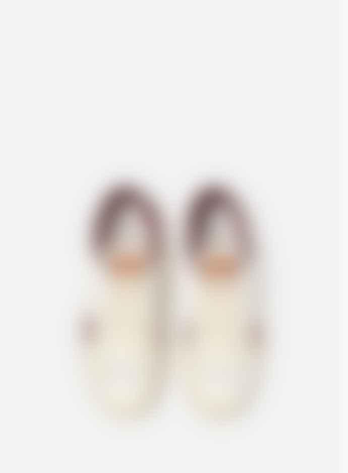 SAYE Model 89 Leather Garnet Recycle Sneakers