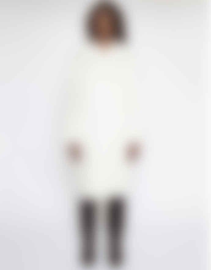 STAND STUDIO White Faux Fur Coat