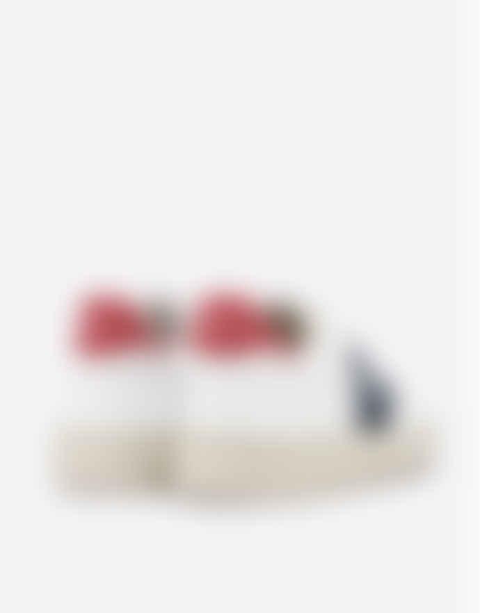 Veja Extra White Nautico Pekin V 10 Leather Trainers 3