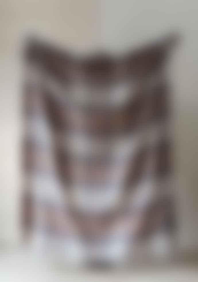 The Tartan Blanket Co. Cashmere Blanket Stewart Natural Dress Tartan