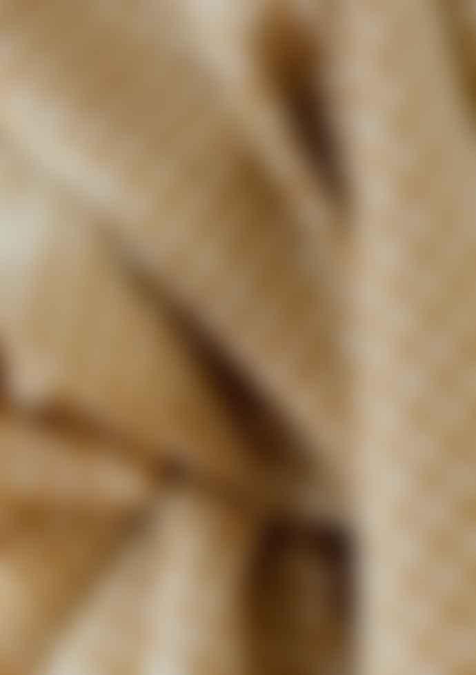 The Tartan Blanket Co. Mustard Gingham Lambswool Blanket