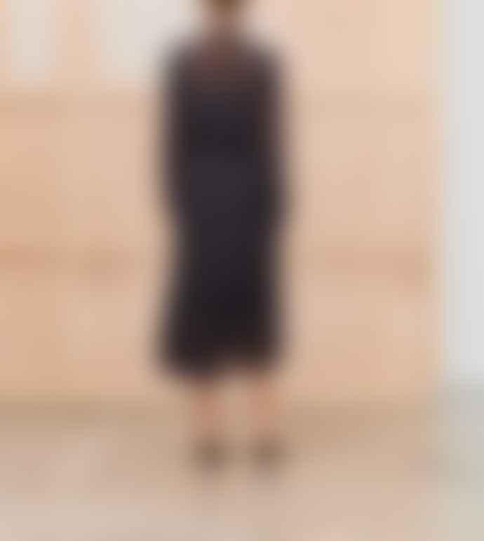 Munthe Tacca Anchor Print Dress In Black