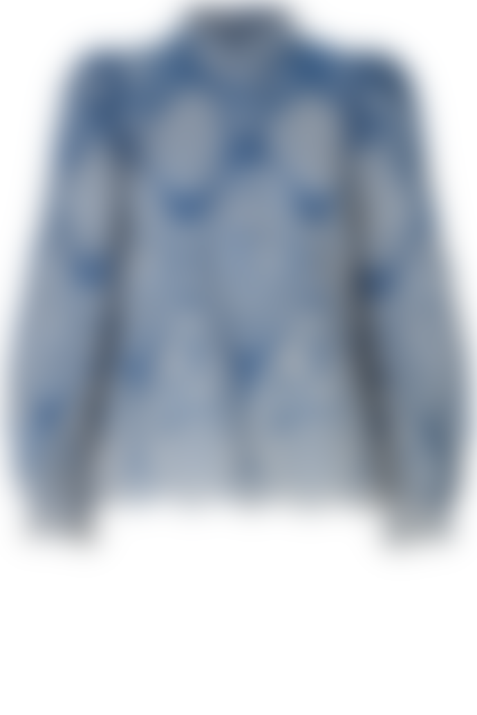 Munthe Think Embroidered Blouse In Blue