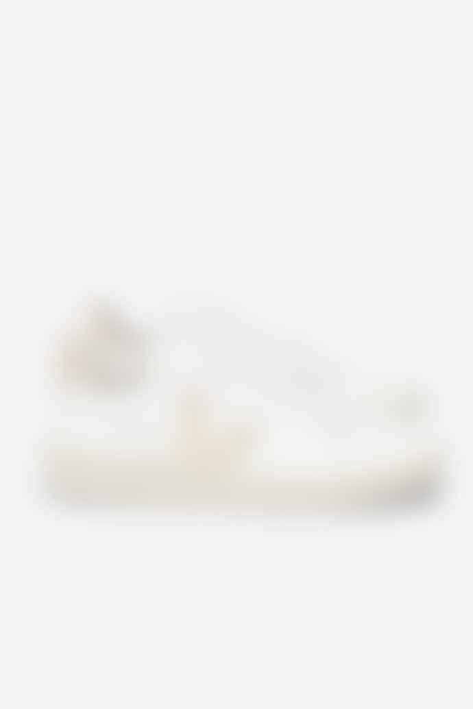 Veja V 10 Leather White Platine Womens Shoes
