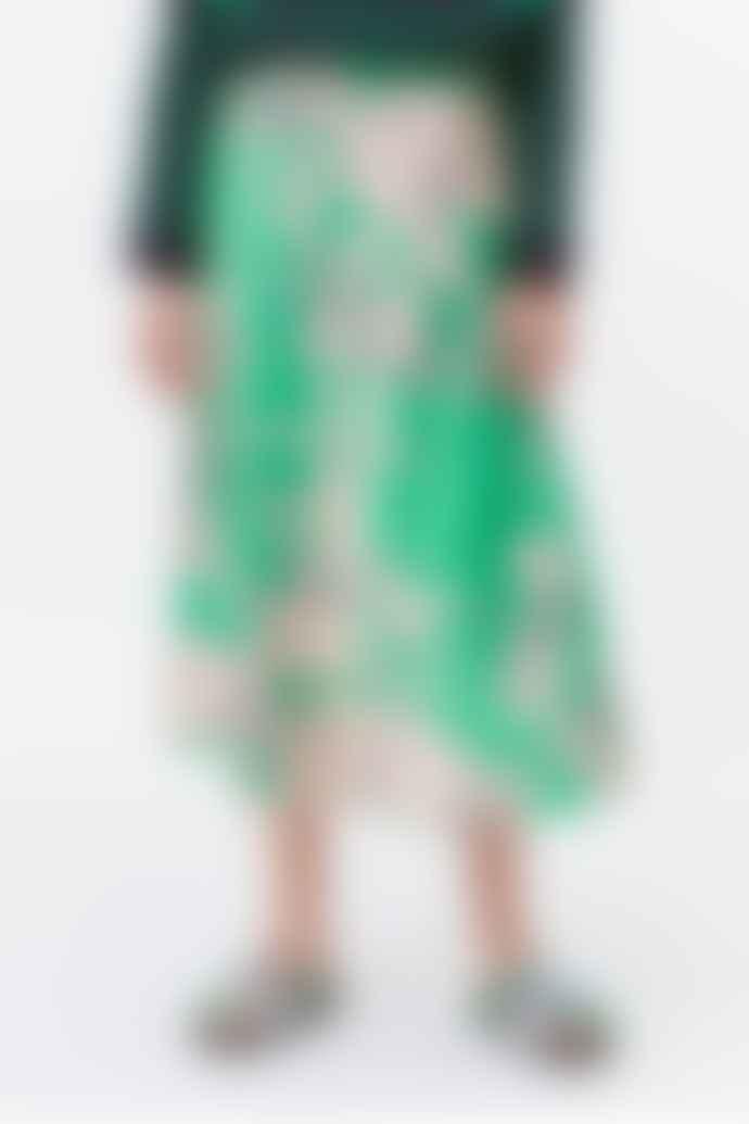 Munthe Tacuba Silky Print Skirt