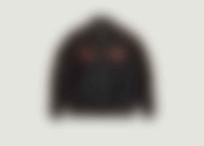 Nudie Jeans Black Mark Souvenir Jacket